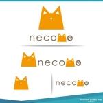 nekosuさんの愛猫家向け専用賃貸物件「necomo」のロゴ作成への提案