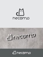 Doing1248さんの愛猫家向け専用賃貸物件「necomo」のロゴ作成への提案