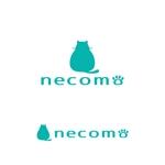 yellow_frogさんの愛猫家向け専用賃貸物件「necomo」のロゴ作成への提案