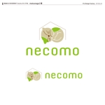 kzdesignさんの愛猫家向け専用賃貸物件「necomo」のロゴ作成への提案