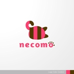 sa_akutsuさんの愛猫家向け専用賃貸物件「necomo」のロゴ作成への提案