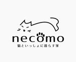 immdsrgさんの愛猫家向け専用賃貸物件「necomo」のロゴ作成への提案