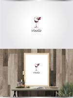 イタリアワイン、オリーブオイルのインポータ―会社のロゴへの提案