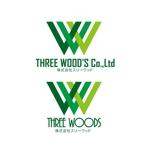 24taraさんの建築デザイン会社 「株式会社スリーウッド」のロゴへの提案