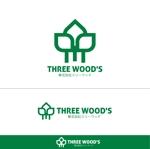 ispd51さんの建築デザイン会社 「株式会社スリーウッド」のロゴへの提案