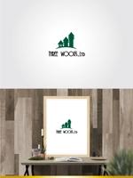 hiradateさんの建築デザイン会社 「株式会社スリーウッド」のロゴへの提案