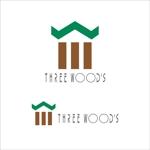 nori_1192さんの建築デザイン会社 「株式会社スリーウッド」のロゴへの提案