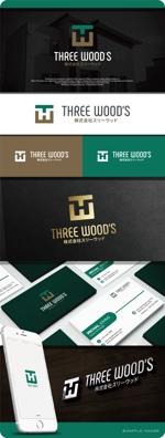maharo77さんの建築デザイン会社 「株式会社スリーウッド」のロゴへの提案