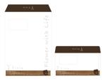 isamuhagaさんの窓付き角2と窓付き洋長3封筒のデザインをお願いします。への提案