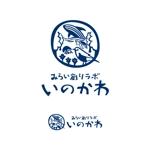 lsmembersさんの【南国・徳之島】クジラの見えるコワーキングスペース「みらい創りラボ・いのかわ」のロゴ制作への提案
