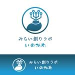 sumiyochiさんの【南国・徳之島】クジラの見えるコワーキングスペース「みらい創りラボ・いのかわ」のロゴ制作への提案