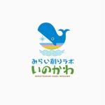 atomgraさんの【南国・徳之島】クジラの見えるコワーキングスペース「みらい創りラボ・いのかわ」のロゴ制作への提案