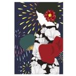 suzukiencreoさんの【複数採用】「ひまわり/花火と浴衣/夏の縁側風景」のいずれかをテーマにしたポストカードのデザイン依頼への提案