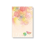 katakataさんの【複数採用】「ひまわり/花火と浴衣/夏の縁側風景」のいずれかをテーマにしたポストカードのデザイン依頼への提案