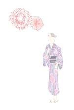 sakki1201さんの【複数採用】「ひまわり/花火と浴衣/夏の縁側風景」のいずれかをテーマにしたポストカードのデザイン依頼への提案