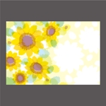 elevenさんの【複数採用】「ひまわり/花火と浴衣/夏の縁側風景」のいずれかをテーマにしたポストカードのデザイン依頼への提案