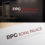hi06さんのグローバル投資企業「ROYAL PALACE 上宮」 のロゴへの提案