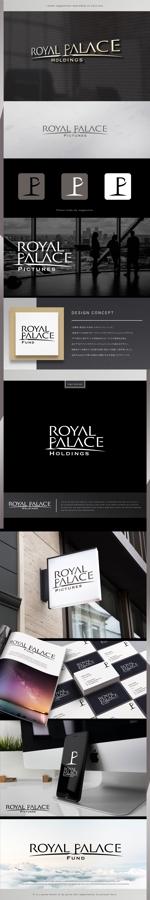 machi_2014さんのグローバル投資企業「ROYAL PALACE 上宮」 のロゴへの提案