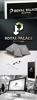 katsu31さんのグローバル投資企業「ROYAL PALACE 上宮」 のロゴへの提案