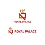 queuecatさんのグローバル投資企業「ROYAL PALACE 上宮」 のロゴへの提案