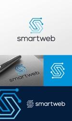 ECサイトを展開する会社「smartweb」の企業ロゴ制作への提案