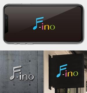 utamaruさんの音楽制作ユニット「f-ino」のロゴへの提案
