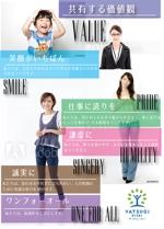 tamurae100さんの経営理念のポスター作成への提案
