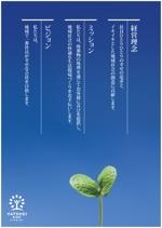 nakaya070さんの経営理念のポスター作成への提案