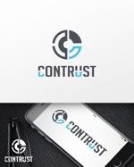 DTPデザイン会社「コントラスト」のロゴへの提案