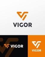 広告代理店「VIGOR株式会社」の企業ロゴへの提案