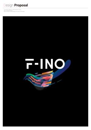 arawaguskさんの音楽制作ユニット「f-ino」のロゴへの提案
