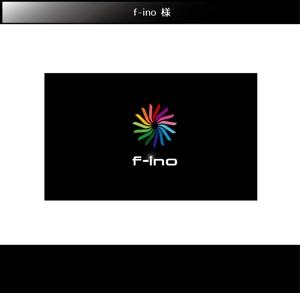 FISHERMANさんの音楽制作ユニット「f-ino」のロゴへの提案