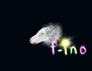 yoriko_hさんの音楽制作ユニット「f-ino」のロゴへの提案