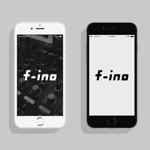 haru_Designさんの音楽制作ユニット「f-ino」のロゴへの提案