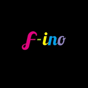 atomgraさんの音楽制作ユニット「f-ino」のロゴへの提案