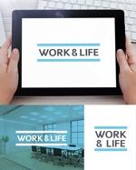 新会社「WORK&LIFE」のロゴへの提案
