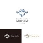 saki8さんの総合ビューティーサロン「MuriaM (ミュリアム)」のロゴへの提案