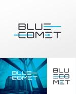 IT企業 彗星がモチーフ 「㈱BLUECOMET」の会社ロゴへの提案