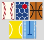 ebi88さんの野球・サッカー・バスケ・テニス・水泳、オリジナルクリアファイルデザイン依頼への提案