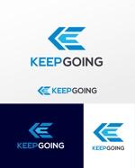 「株式会社KEEPGOING」の会社ロゴへの提案