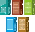 Bucchiさんの野球・サッカー・バスケ・テニス・水泳、オリジナルクリアファイルデザイン依頼への提案