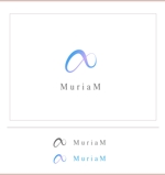 sora-graさんの総合ビューティーサロン「MuriaM (ミュリアム)」のロゴへの提案