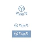 K-digitalsさんの総合ビューティーサロン「MuriaM (ミュリアム)」のロゴへの提案