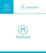 Doing1248さんの総合ビューティーサロン「MuriaM (ミュリアム)」のロゴへの提案