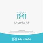 landscapeさんの総合ビューティーサロン「MuriaM (ミュリアム)」のロゴへの提案
