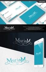 take5-designさんの総合ビューティーサロン「MuriaM (ミュリアム)」のロゴへの提案