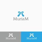 atomgraさんの総合ビューティーサロン「MuriaM (ミュリアム)」のロゴへの提案