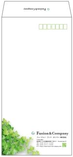 tiger_jetshinさんの女性総活躍企業「フュージョン・アンド・カンパニー㈱」角2封筒・長3横型封筒デザインのご依頼への提案