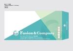 TAKiさんの女性総活躍企業「フュージョン・アンド・カンパニー㈱」角2封筒・長3横型封筒デザインのご依頼への提案
