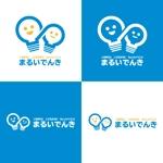 ichimaruyonさんの地域新電力「まるいでんき」のロゴへの提案